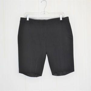 J.Crew Black Bermuda City Fit Shorts Size 10
